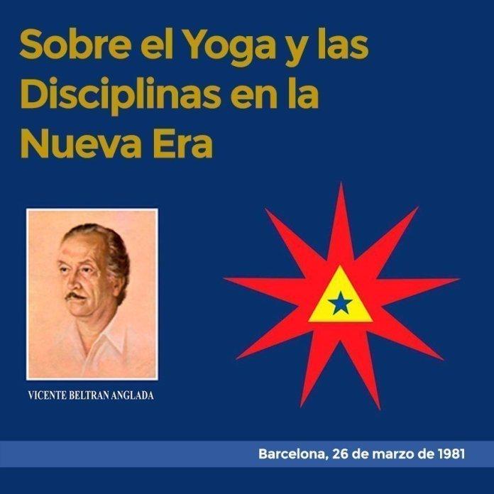 Sobre el Yoga y las Disciplinas en la Nueva Era Barcelona, 26 de marzo de 1981
