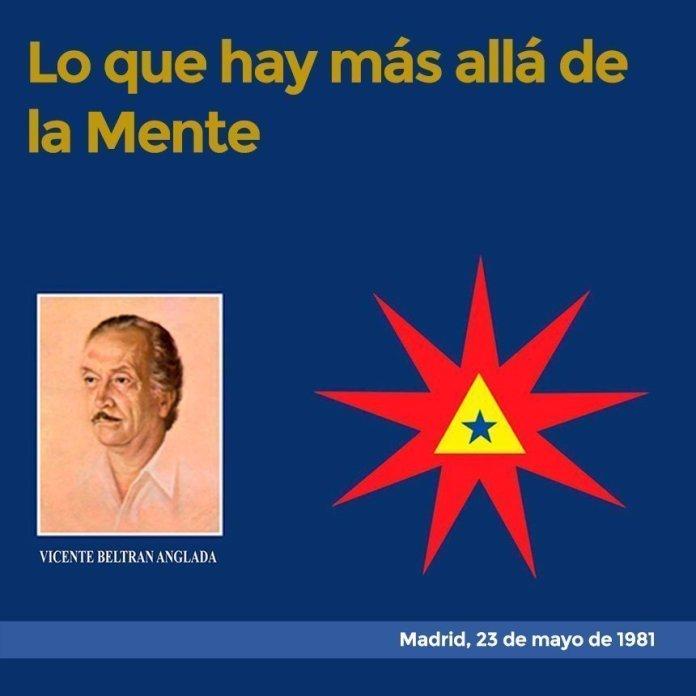 Lo que hay Más Allá de la Mente Madrid, 23 de mayo de 1981