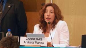 La legisladora Arabela Marisa  Carreras apoyo el proyecto