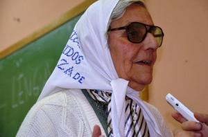 Inés Ragni, Madre de Plaza de Mayo Alto Valle y Neuquén..