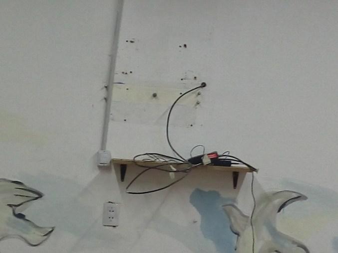 "Lugar de donde fue ""arrancada"" la television del bar de la FADECS"