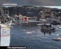 Groenlanda. Locuitorii insulei vor vota pentru declararea independenţei