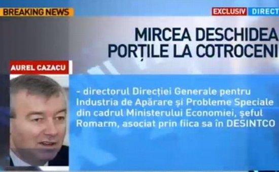 Q&A. Afacerist: Numele lui Mircea Băsescu e o garanţie. Te duce la Cotroceni 407