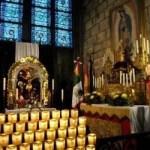 Altar a la Virgen de Guadalupe no se dañó en incendio de Notre Dame