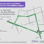 A partir de hoy por la noche inicia el cierre de la gasa de incorporación de Periférico Sur-López Mateos en Zapopan