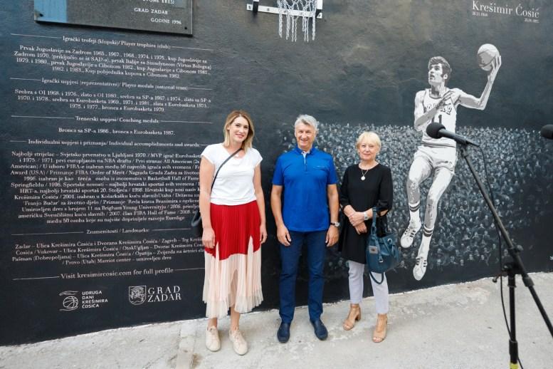 Ana Cosic, Bozidar Longin, Ljerka Cosic