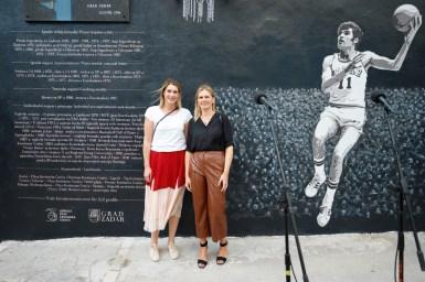 Ana Cosic, Dina Busic - procelnica za sport i kulturu Zadra