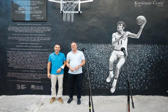 Zeljko Zilavec - KK Zadar, Branko Dukic