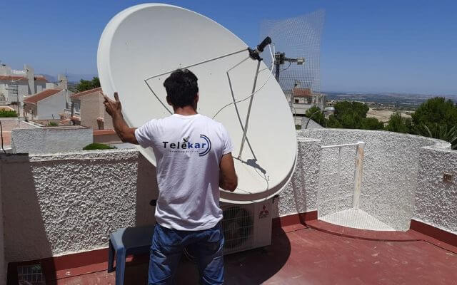 antenista alicante, orientar parabólica Alicante