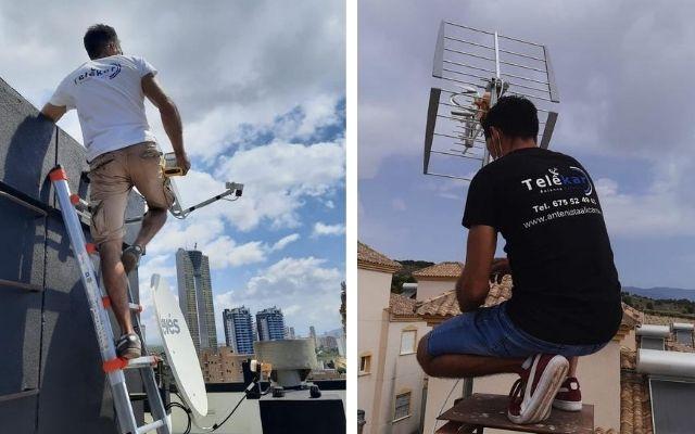 Antenista en Alicante instalador de antenas