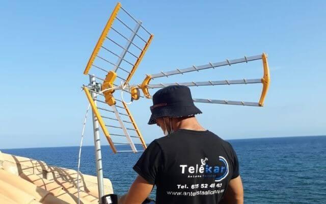Antenista Alicante instaladores de antenas
