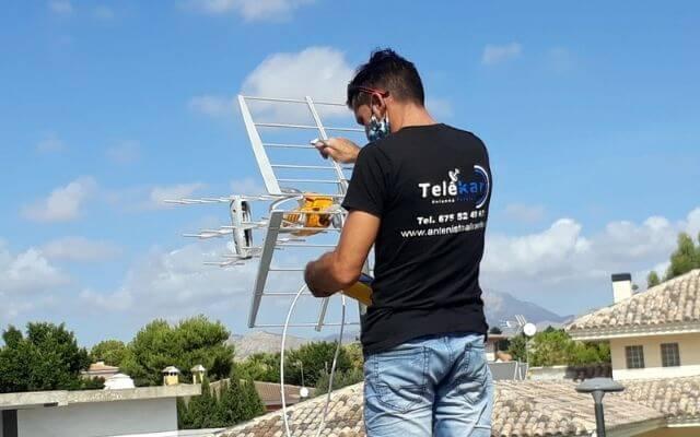 Antenista Alicante Telekar. Antenista en Alicante