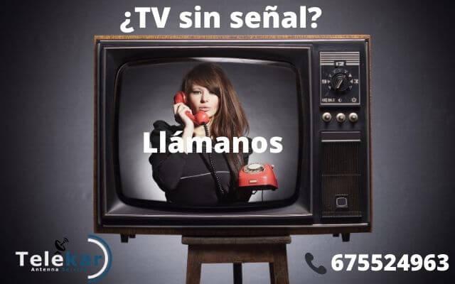 Antenista Alicante TV sin señal solucion reparacion
