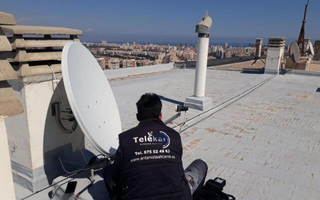 Antenista Alicante, antenas alicante telekar