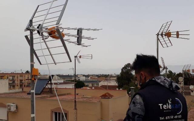 Antenista Alicante antenas