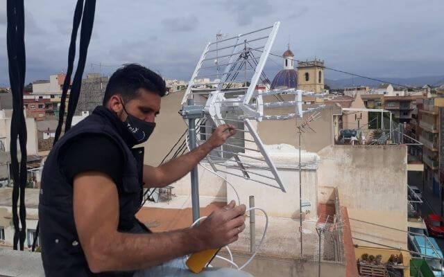 Antenista en Alicante, arreglo antenas