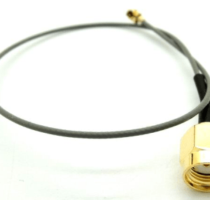 PR-SMA to U.FL 20CM Antenna Cavo Inside Screw and Inside Hole