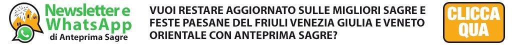 Sagre e feste paesane in Friuli Venezia Giulia