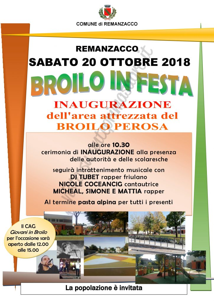 Broilo in Festa 2018 a Remanzacco