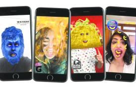 Snapchat sponsored lenses