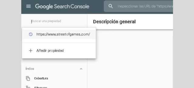 How to create an account in Google Search Console