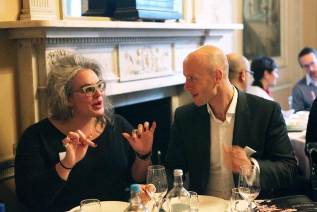 Ghela Boskovich and Tom Woolf