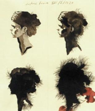 Justine Frank, 1927