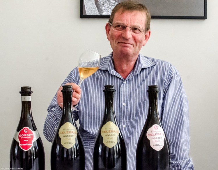 Jean-Pierre Mareigner, chef de cave de Champagne Gosset, nous a quittés.