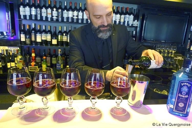 Le Cahors, c'est pour les cocktails.