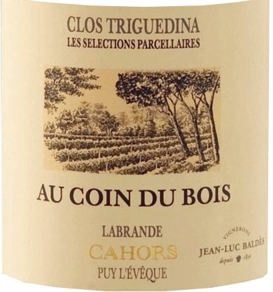 Vin de la semaine : Clos Triguedina – Au coin du bois – 2012