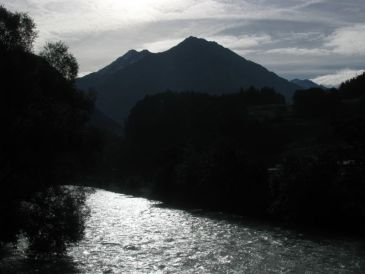 The Aare River