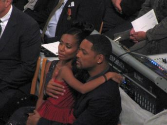 Will and Jada Pinkett Smith at the Nobel Peace Prize