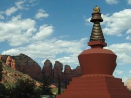 Stupa in Sedona