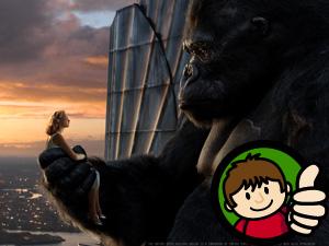 King Kong Thumbs Up