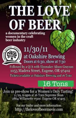Women and craft beer documentary - The Love of Beer