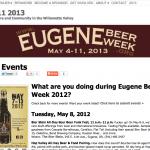 Eugene-Beer-Week