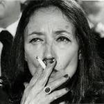 Oriana Fallaci, esa mujer