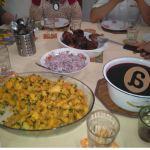 Las comidas y su doble función: social y nutricional. Comparación entre las comidas cotidianas y comidas festivas en una familia