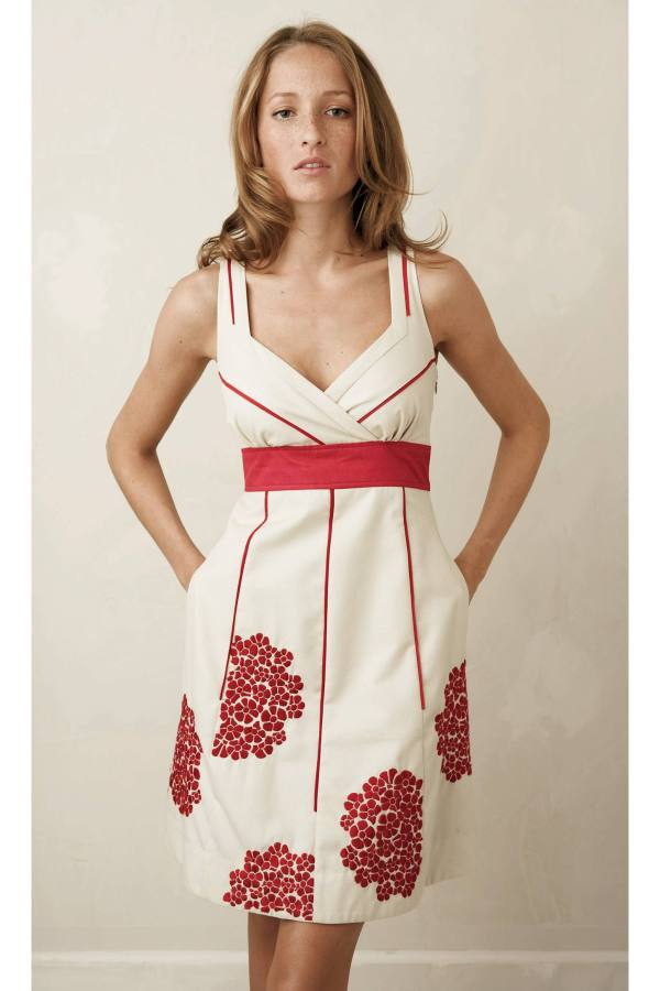 Anthropologie Coral Way Dress by Floreat (2009)
