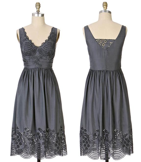 Eyelet Silk Dress 2007