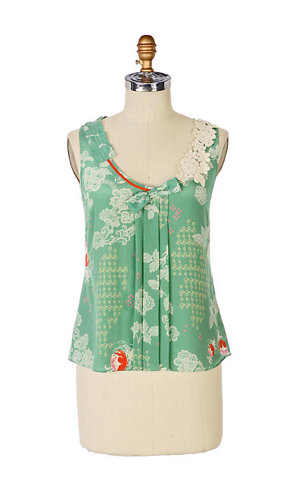 Anthropologie Buckminster's Reverie Tieback blouse (2008)