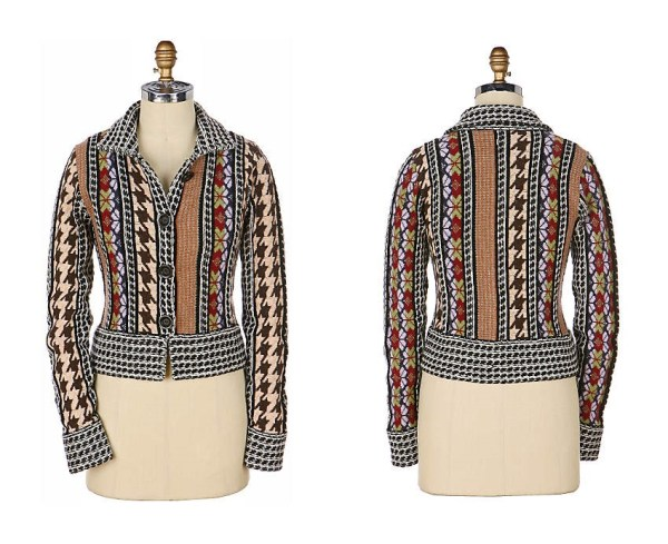 Anthropologie Chanterella Cardigan by HWR (2006)