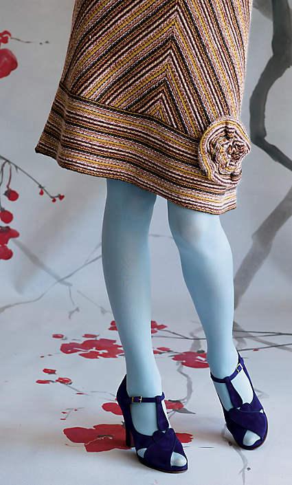 Anthropologie Chevron Sweater Skirt by Viola (2008)