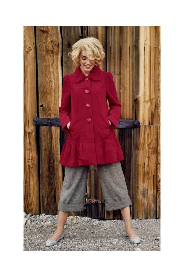 Anthropologie Grable Swing Coat by Elevenses (2007)