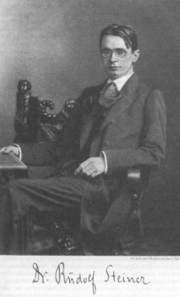 Rudolf Steiner in Berlin, around 1900