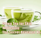 green tea for skin whitening