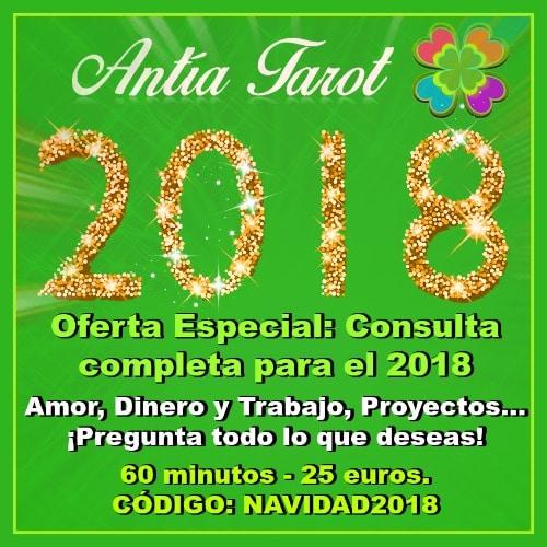 Oferta Tarot Visa 2018 Antía Tarot