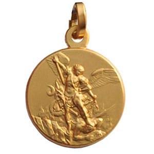 Medalla Arcángel San Miguel Amuleto de Protección