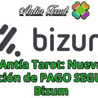 Tarot Pago Bizum: Nuevo método de PAGO SEGURO en Antía Tarot