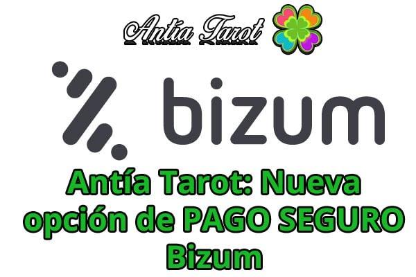 Antía Tarot PAGO BIZUM